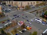 Автоавария в центре Челябинска